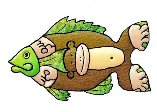 Kisah Ikan Monyet Dimazshinoda